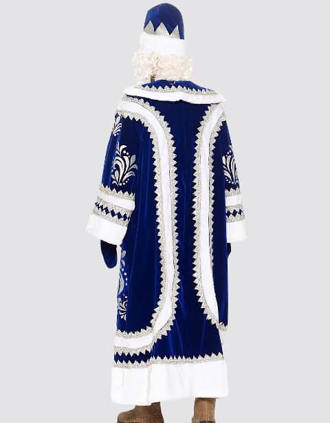 Купеческий костюм вид сзади.