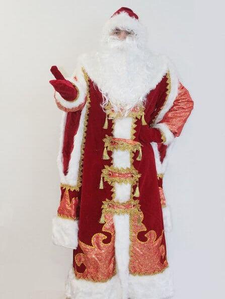 Царский костюм деда мороза в Крыму