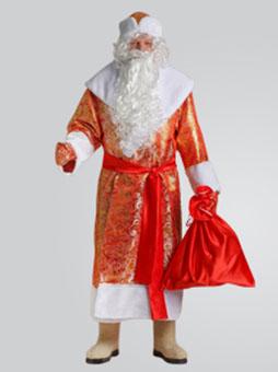 Костюм Деда Мороза Золотой Парчовый в Крыму
