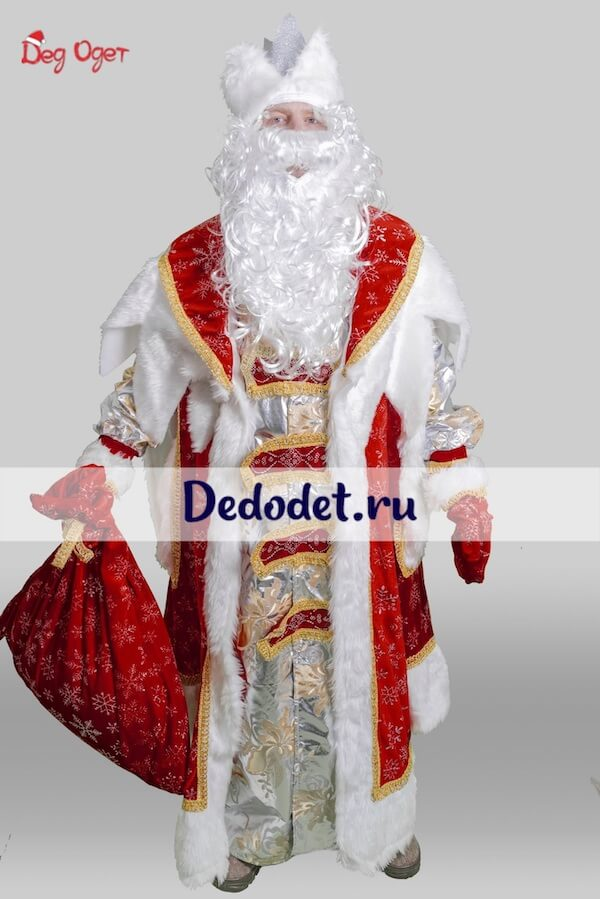 Королевский костюм Деда Мороза в Крыму