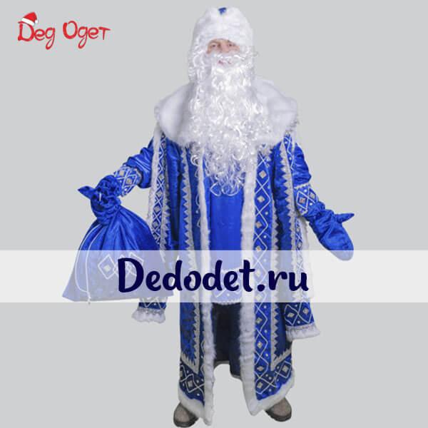Кремлевский костюм деда Мороза в Крыму