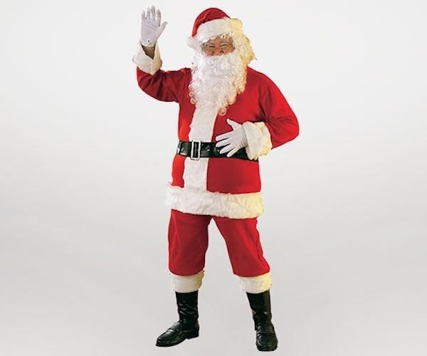 Костюм Санта-Клауса в Крыму