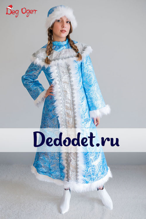 Новогодний костюм Снегурочки в Крыму
