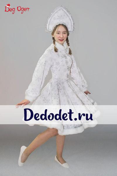 Костюм Снегурочки с кокошником в Крыму
