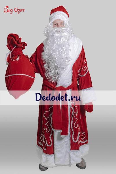 Костюм Деда Мороза традиционный в Крыму