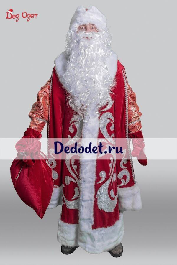 Богатый костюм деда мороза Крым