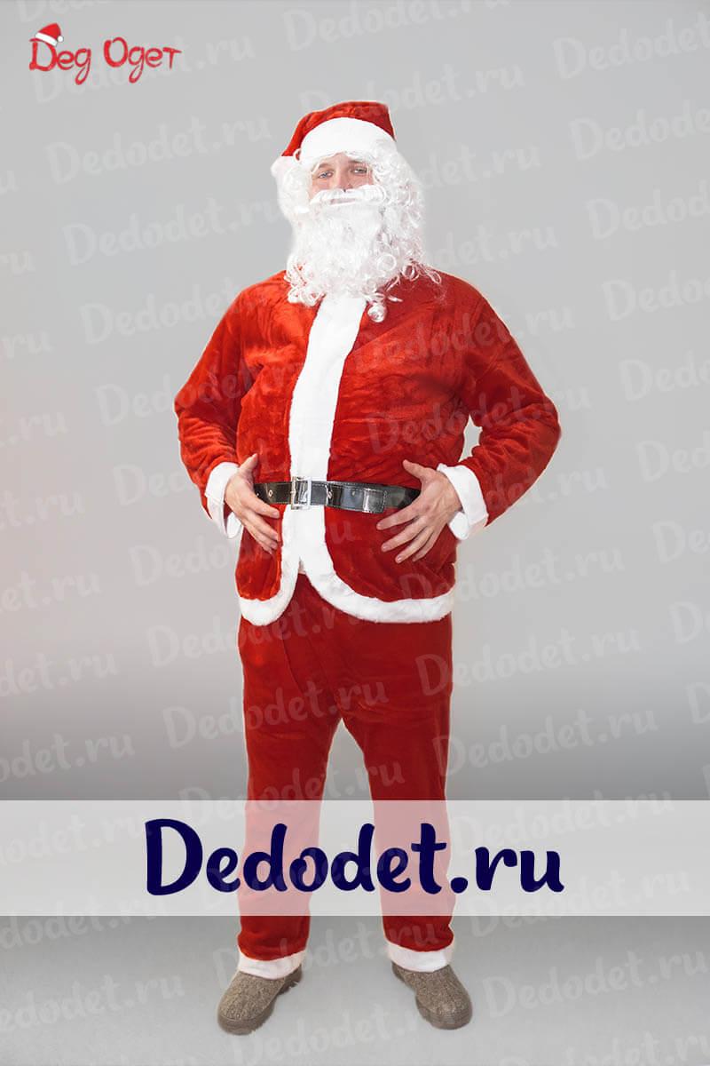 Костюм Санта-Клауса для взрослых недорого в Крыму